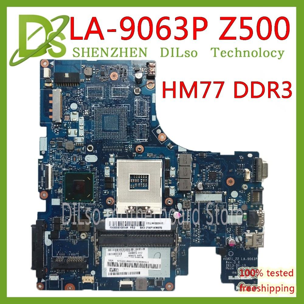 KEFU LA-9063P For Lenovo Z500 laptop motherboard VIWZ1-Z2 LA-9063P Z500 without GPU DDR3 original motherboard 100% Test workKEFU LA-9063P For Lenovo Z500 laptop motherboard VIWZ1-Z2 LA-9063P Z500 without GPU DDR3 original motherboard 100% Test work