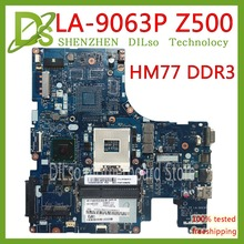 цены KEFU LA-9063P For Lenovo Z500 laptop motherboard VIWZ1-Z2 LA-9063P Z500 without GPU DDR3 original motherboard 100% Test work