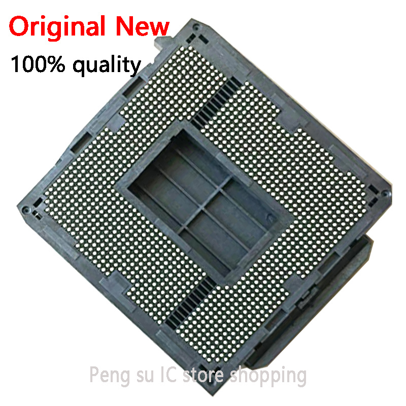 100% New For Socket LGA1155  CPU Base Socket PC BGA Base Good Works
