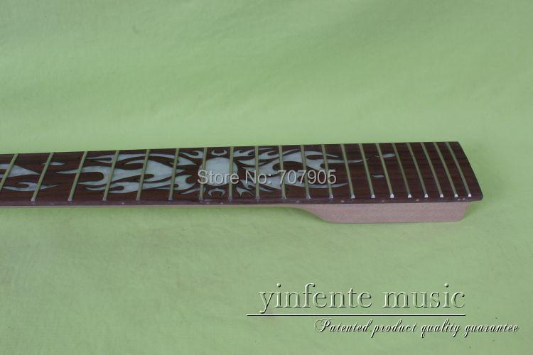 ФОТО 1  pcs unfinished    high quality   mahogany  made  and rose wood    fingerboard