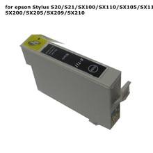 1 шт. t0711 71 черный картридж для Epson Стилусы S20 S21 SX100 SX110 SX105 SX115 SX200 sx205 sx209 SX210 принтера