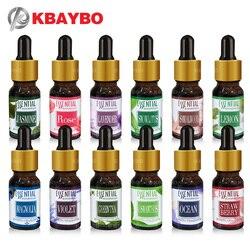 Marke Neue Wasser-löslich Öl Ätherische Öle für Aromatherapie Lavendel Öl Luftbefeuchter Öl mit 12 Arten von Duft Rose