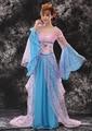 Cetim Fêmea De Fadas Cosplay Mulheres Traje Hanfu Dinastia Tang Chinês Vestido de Princesa Real Wu Zetian Desempenho Traje de Dança 89