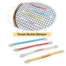 1Pcs Tennis Racket Damper Shock Absorber Silicone Bat Vibration Absorbing Reducing Anti-Slip Strips