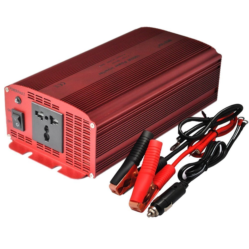 Bestek 1000w Car Inverter Dc 12v To 230v Ac Converter With Electrical Outlet Modified Sine Wave Inverters In From