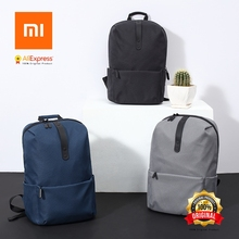 Original XiaomI Mi Backpack College Casual Shoulders Bag Female Leisure Rucksack Daypack School Bag Duffel Bag 15.6 Inch Laptop