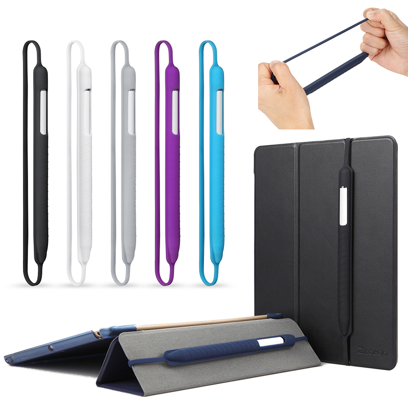 Colorful Soft Silicone Compatible For Apple Pencil 1 ,2 Case Compatible For IPad Tablet Touch Pen Stylus Protective Sleeve Cover