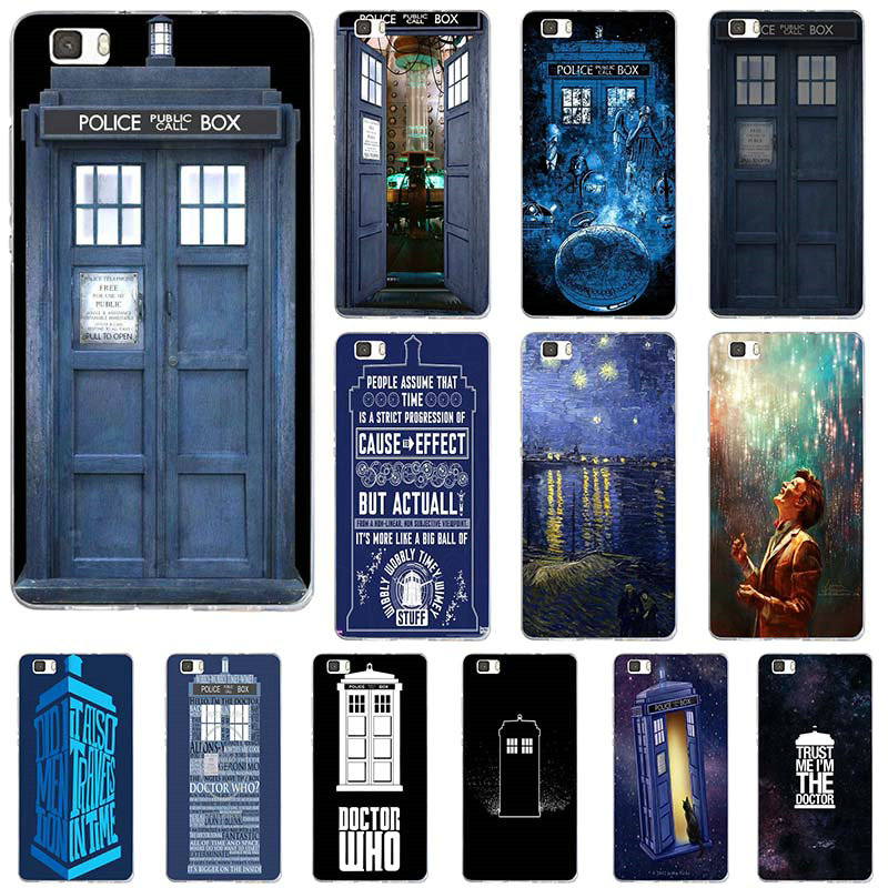 Phone Bags & Cases Accessories Phone Case Cover For Huawei P Smart Mate Y6 Pro P8 P9 P10 Nova P20 Lite Pro Mini 2017 Doctor Who Police Box Call Box The Latest Fashion Cellphones & Telecommunications