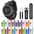 Drop shippingSimpleStone Soft Silicone Strap Replacement Watch Band With Tools For Garmin Fenix 3 HR June23