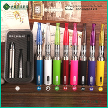 GreenSound ego vaporizer kit ego one e cigarette Starter Kits 2200mah EGO II MEGA KIT for vape