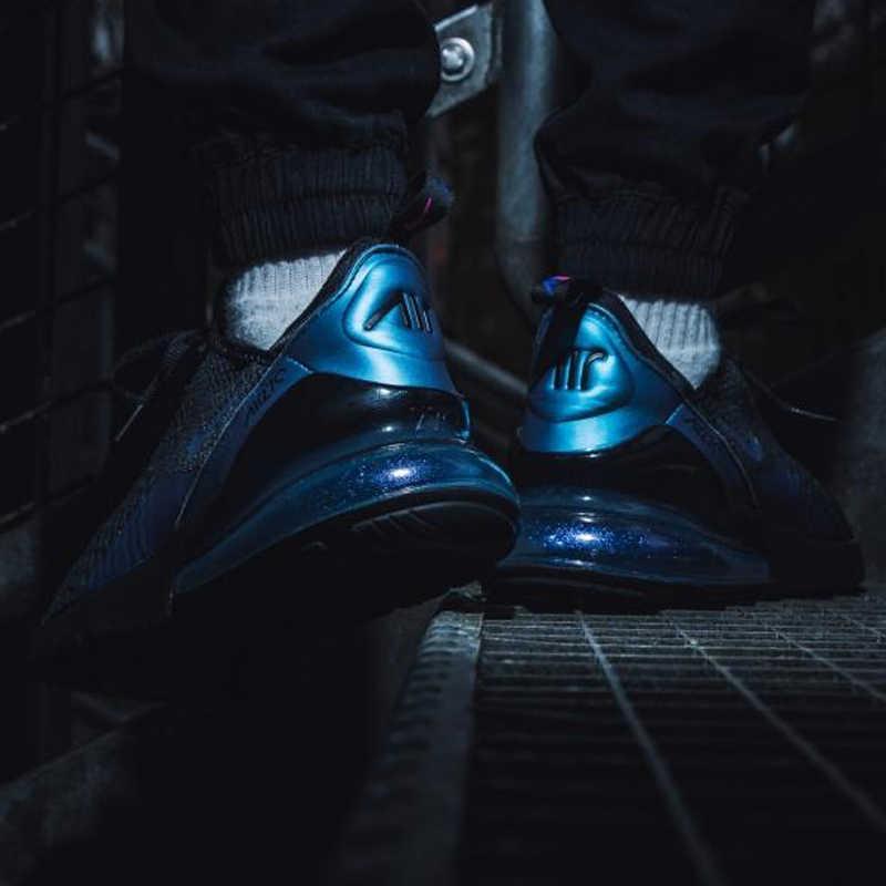 Оригинальный Nike Оригинальные кроссовки Air Max 270 Для мужчин, кроссовки из дышащего материала, легкие, прочные, хорошее качество 2019 Новое поступление AH8050