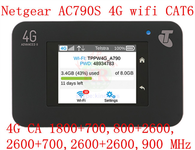 unlocked cat6 300mbps netger 790s AC790S Aircard 4g lte mifi router dongle 4G LTE pocket wifi