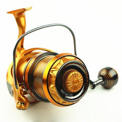 fundicao reel pesca fio de metal copo balancim 3 tipos