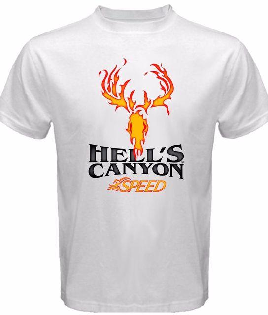 06e3a8d3 Browning Men's Hell's Canyon Tshirt White New Sleeve Harajuku Tops