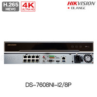 Hikvision DS 7608NI I2 8P DS 7616NI I2 16P 12MP H 265 4K POE NVR 8CH