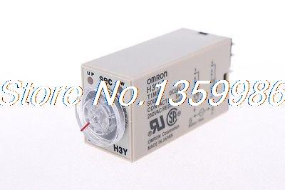 10pcs  time timer relay 8pin H3Y-2 H3Y DC24V  5A  0.2-5.0Seconds 5S free shipping new h3cr a8 multifunction timer time relay with 8 pin socket multi functional timer 100 220vac dc