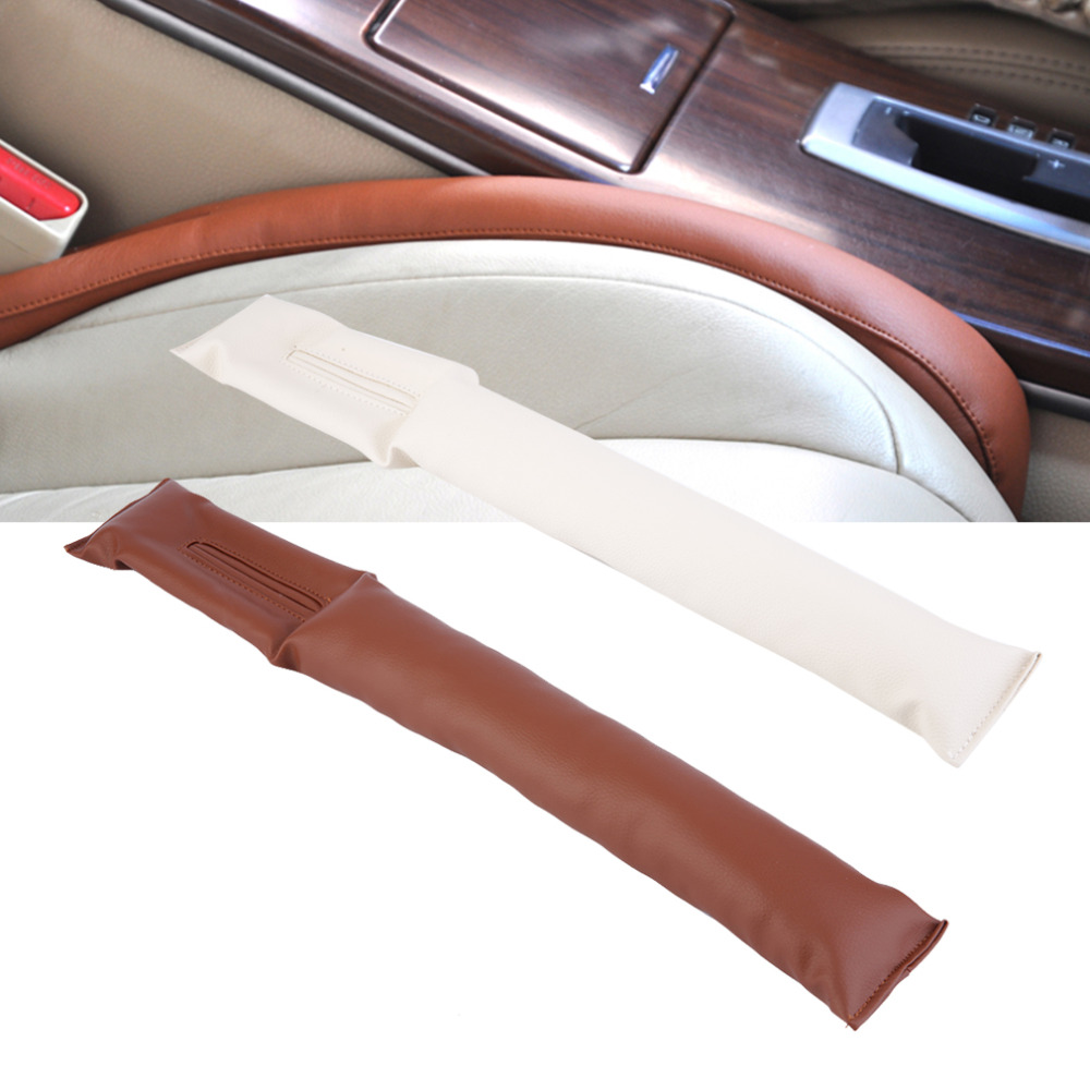 3d481c03c73e 2016 Faux Leather Car Seat Gap Pad Fillers Holster Spacer Filler Padding  Protective Case Auto Cleaner