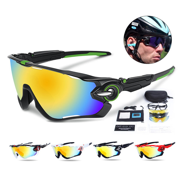 9cae11ba3a1 Polarized Cycling SunGlasses Mountain Bike Goggles 3 Lens UV400 Cycling  Eyewear Bicycle Cycling Glasses mtb lentes ciclismo