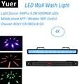 LED Wash Wall 840 светодиодов 0 2 Вт RGB 3в1 сценический эффект освещения DMX 512 бар настенный светильник для мытья бегущей лошади точечное управление Dj ...