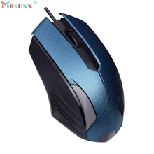 Adroit 2016 Brand New Fashion USB Wired 1200 DPI Optical Gaming Mouse Mice Gamer Muis 11S60914