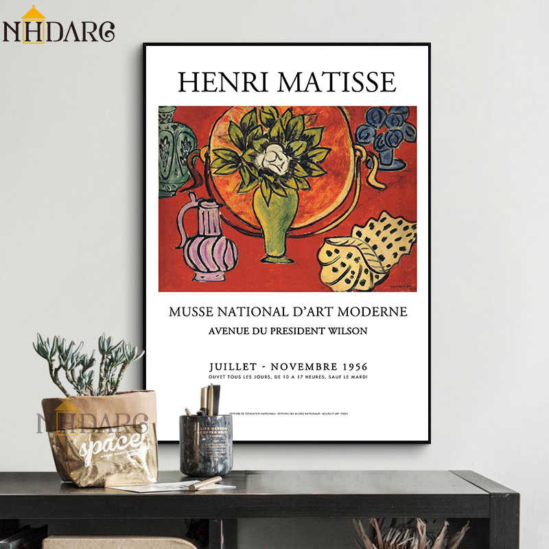 Henri Matisse Fashion Retro Posters And Prints Abstract Portrait Wall Art Canvas Painting Pictures For Living Room Home Decor