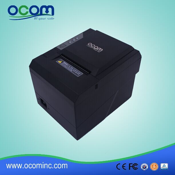 OCPP-80G 80mm Direct Thermal Receipt Printer with auto cutter USB Serial LAN all in one