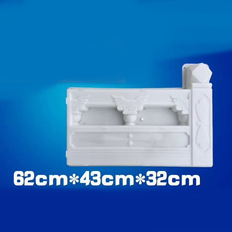 DIY White Garden Concrete Fence Mold Garden Flower Pool Plastic Mold Brick Courtyard Antique Flower Pond Paving Molds in Tool Parts from Tools
