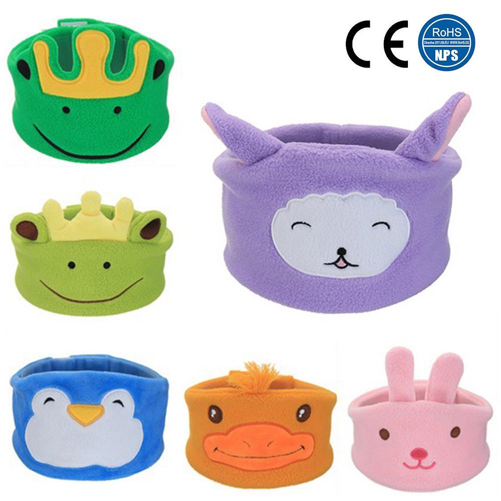 Children Plush Cartoon Sleeping Headphones Musical Headband Volume Limited With Ultrathin Speakers Soft Headband Kids Earphones
