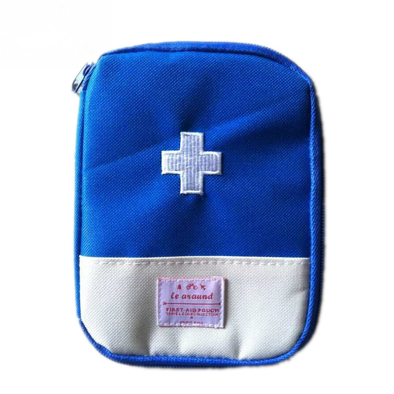 Small Aid Kit Outdoor First Aid Emergency Medical Kit Wrap Gear Hunt Survival Bag