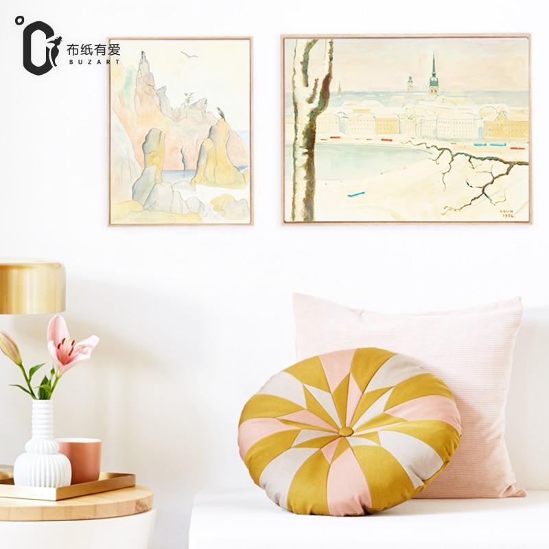 İsveçdəki həyat İmpressionist Ev dekorasiya üzüm Yaşayış - Ev dekoru - Fotoqrafiya 1