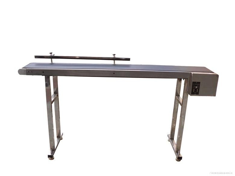 Convoyeur à bande personnalisé pour bouteilles/aliments/produits 1 m-2 m SYB-01 de Table rotative à bande mobile personnalisée
