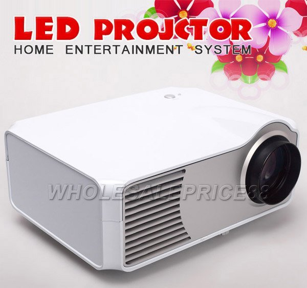 3 PCS Lots + LED Projector HDMI 1080i Multimedia Home Theater Projector  For TV Video PS3 Wii XBOX LCD P610 Free Shipping