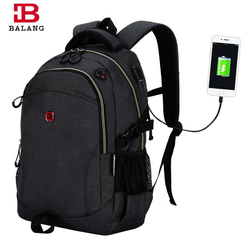BaLang 2017 New Travel Backpack Notebook Laptop School Backpack for Teenagers 15.6 inch for Men Women Rucksack Bolsas Mochila baillr brand laptop backpack men women bolsa mochila for 14 15inch notebook computer rucksack school bag backpack for teenagers