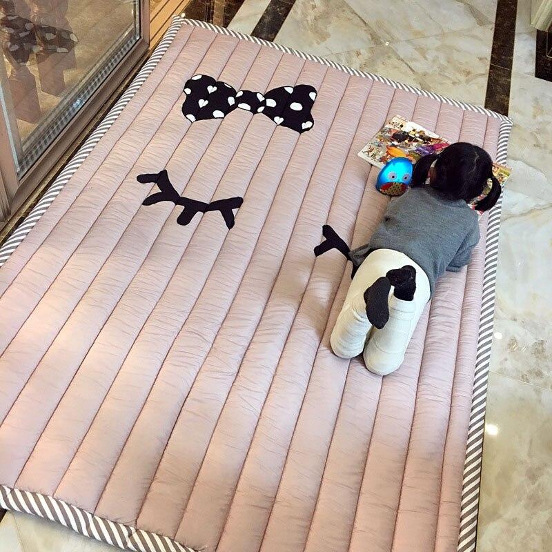 Tapis bébé tapis de jeu enfants tapis bébé Playmate 140X195X3CM tapis lavables en Machine pour salon anti-dérapant chambre 55X76 Inch - 3
