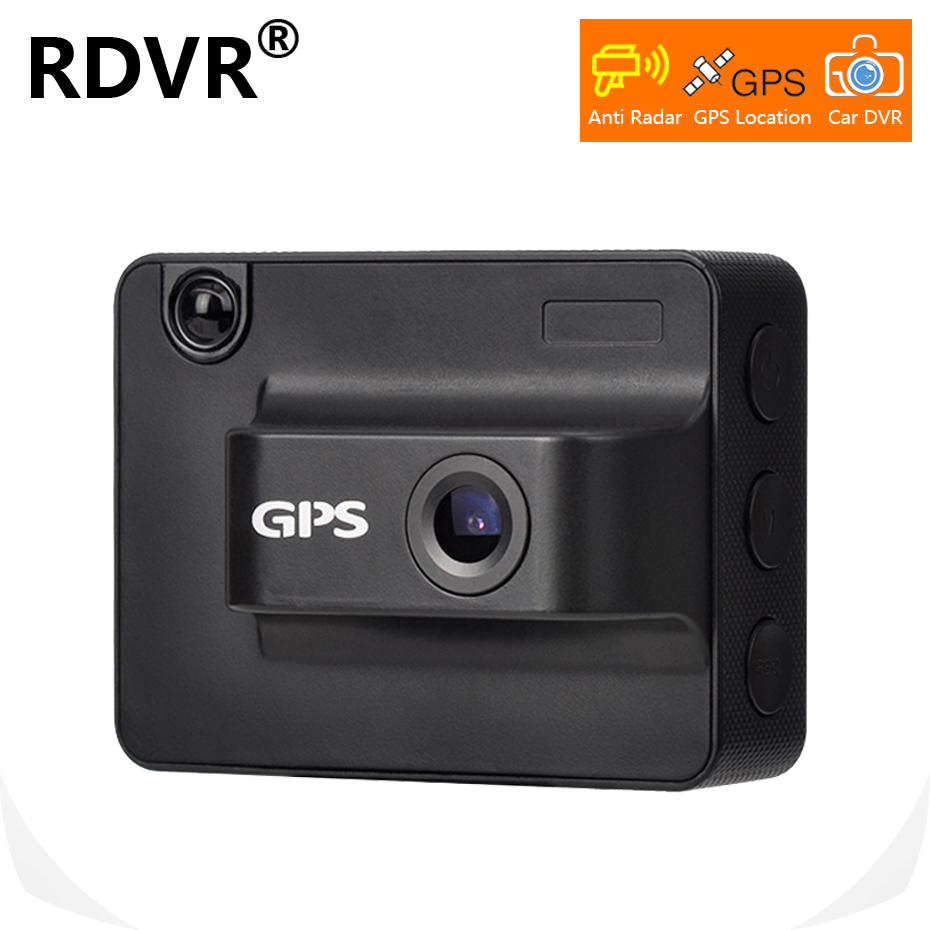 2019 New 3 in 1 AntiRadar Car Radar detector DVR dash cam with GPS locator 720P
