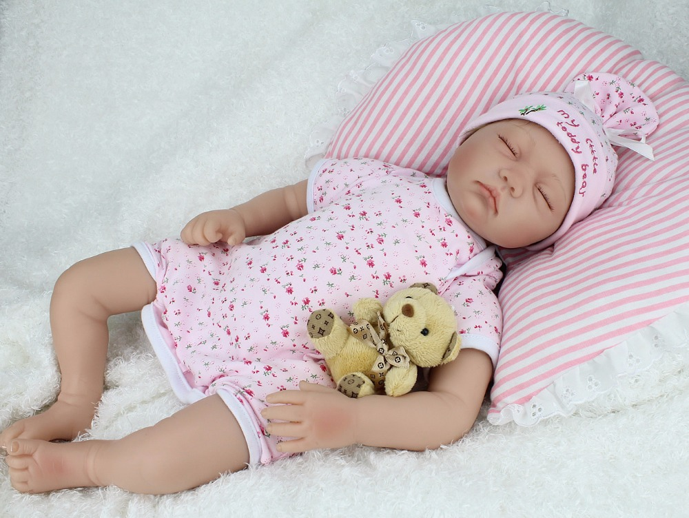 NPKDOLL 55cm sleeping American girl Silicone reborn Dolls Baby Vinyl doll toys for girls 22inches bebe Brinquedos free freight baby toys early developmental plaything brinquedos bebe eletronicos action animis free shipping 366c