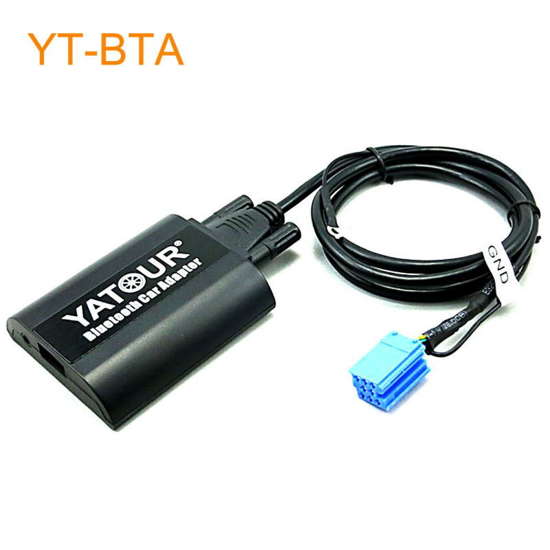 Yatour BTA Car Bluetooth Adapter Kit for Factory OEM Head Unit Radio for VW Golf Beetle Cabrio Jetta Passat Sharan for Polo car usb sd aux adapter digital music changer mp3 converter for skoda octavia 2007 2011 fits select oem radios