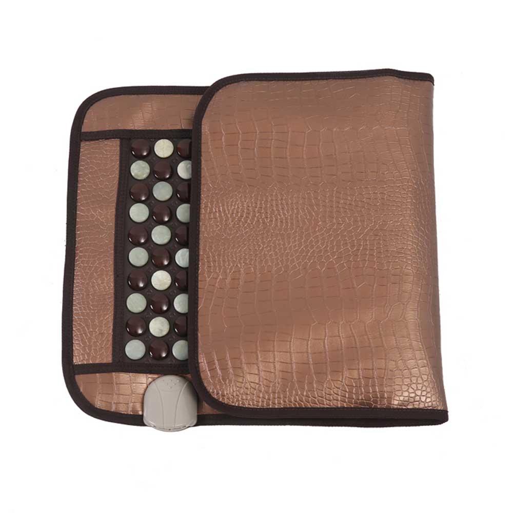 220V healthcare Korea germanium tourmaline massage mat Mix jade mattress electric heating therapy pad cushion nuga