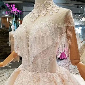 Image 2 - Aijingyu rendas vestidos de casamento vestido de noiva personalizado branco vestidos loja online china vestido de casamento