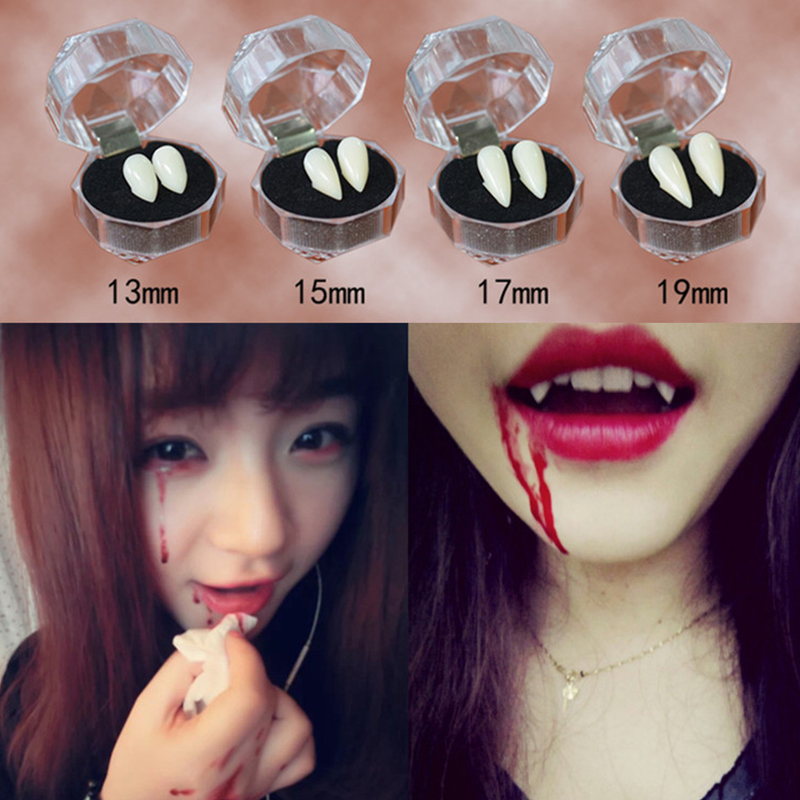 Halloween Cosplay Dentures Zombie Vampire Teeth Ghost Devil Fangs Props Costume Party Accessory Tooth Tooth False