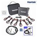 O002 2 piezas 60 MHz sonda + Hantek 1008C DAQ programa generador de PC USB diagnóstico automotriz osciloscopio Digital /envío de la gota