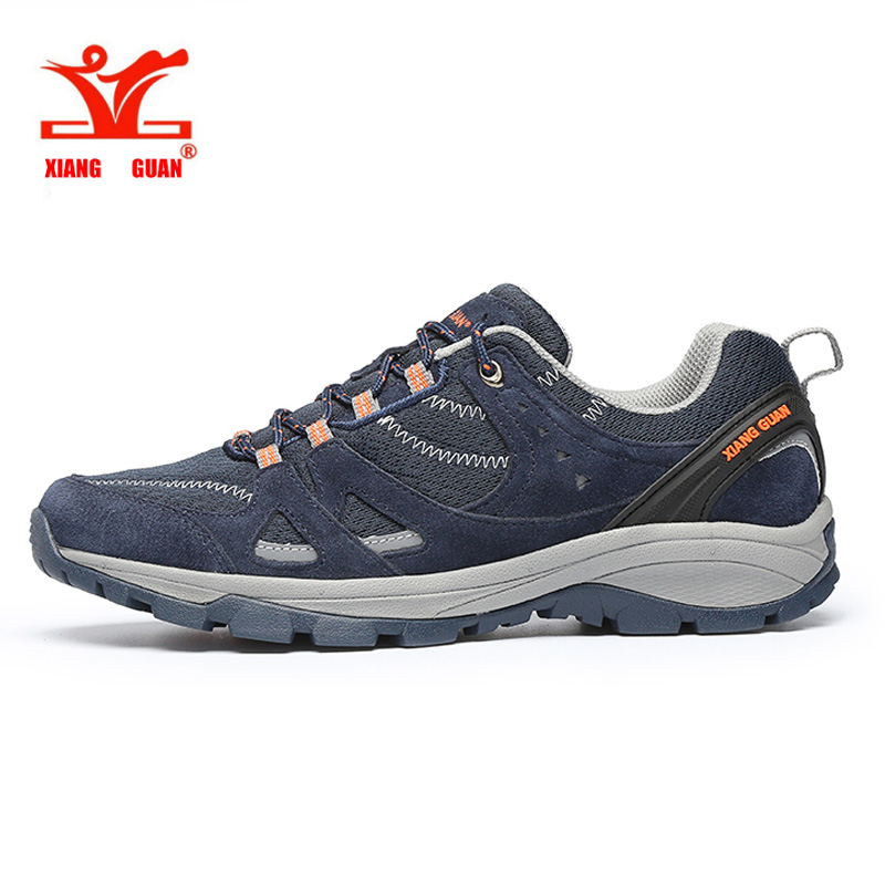 2017 XIANG GUAN Man Running Shoes Outdoor Sneakers Grey Blue off-road Athletic Summer Mesh Breathable Sports Shoes EUR 39-45 2017brand sport mesh men running shoes athletic sneakers air breath increased within zapatillas deportivas trainers couple shoes