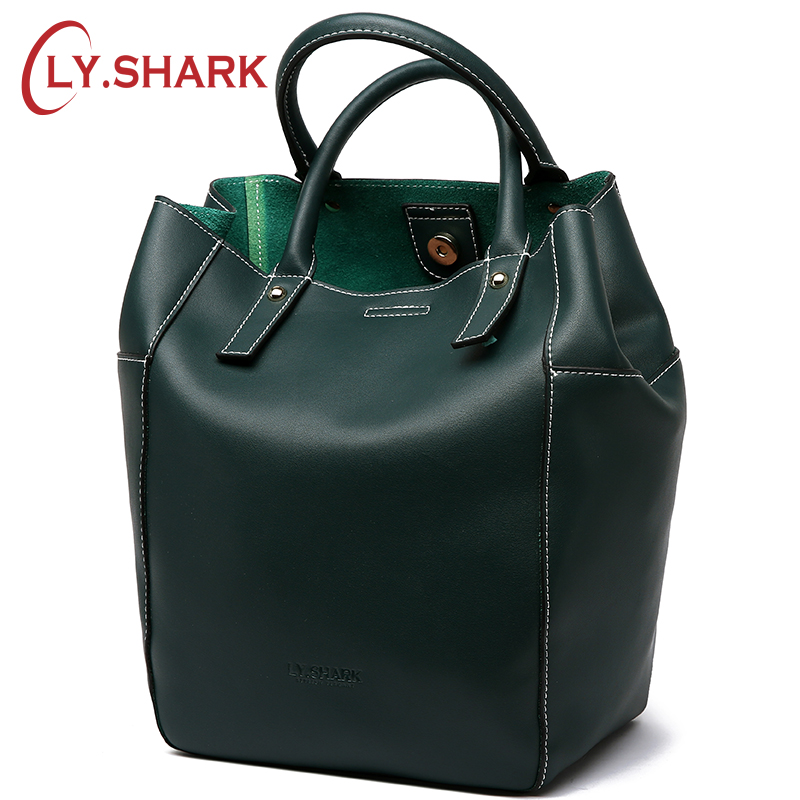LY SHARK Brand Fashion Female Shoulder Bag Women Leather Handbag Vintage Crossbody Messenger Bag For Women