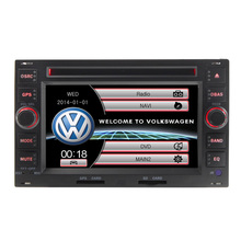 Car Radio dvd player for Volkswagen VW Golf 4 PASSAT B5 POLO BORA Bluetooth-Enabled Built-in GPS Steering Wheel Control Free map