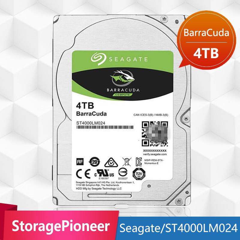 Seagate 4 tb DISQUE DUR Interne Portable Disque Dur 15mm 5400 rpm SATA 6 gb/s 128 mb Cache 2.5 -pouces Pour Ordinateur Portable ST4000LM024