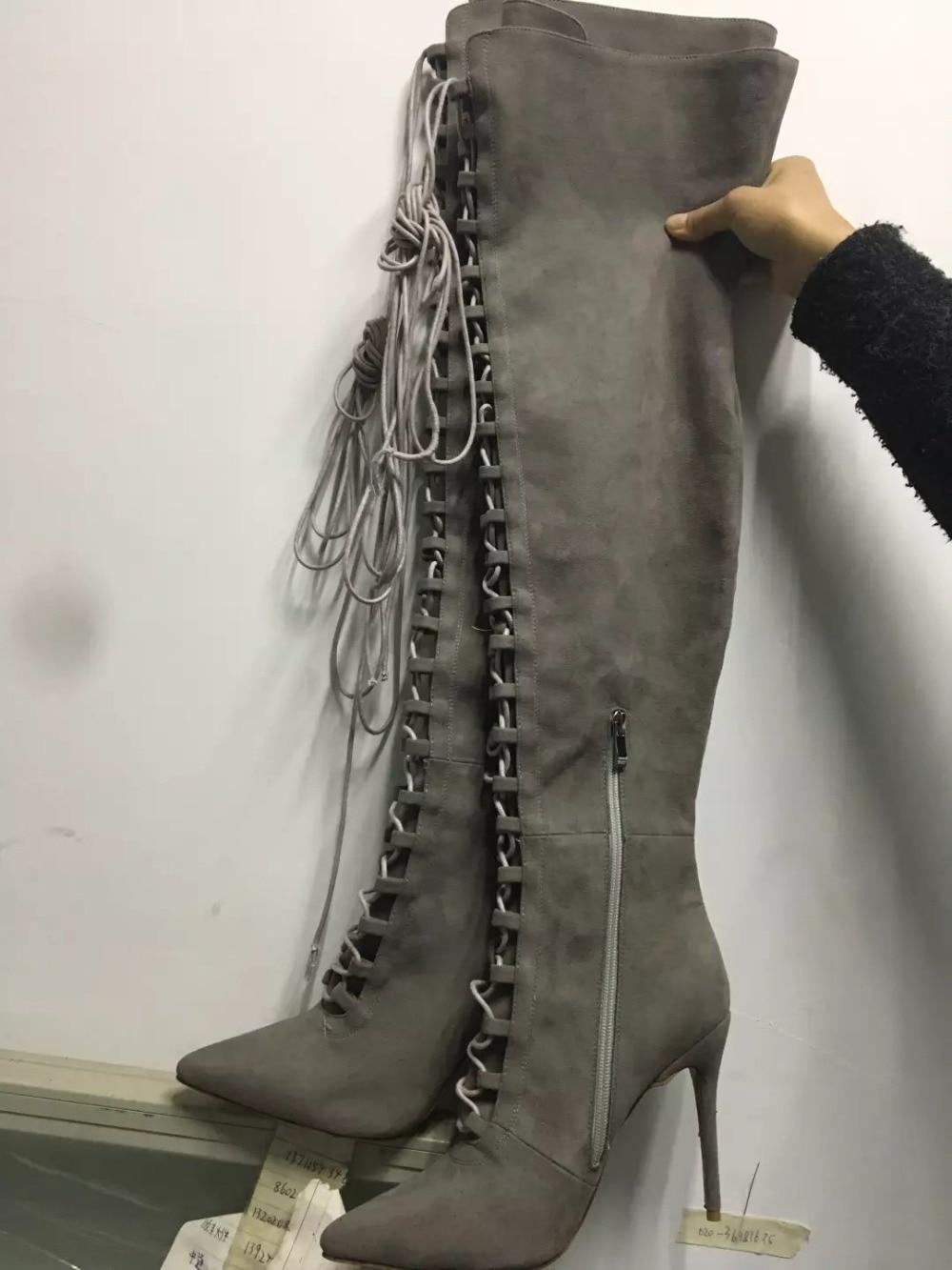 Gray Fringe Boots Promotion-Shop for Promotional Gray Fringe Boots ...