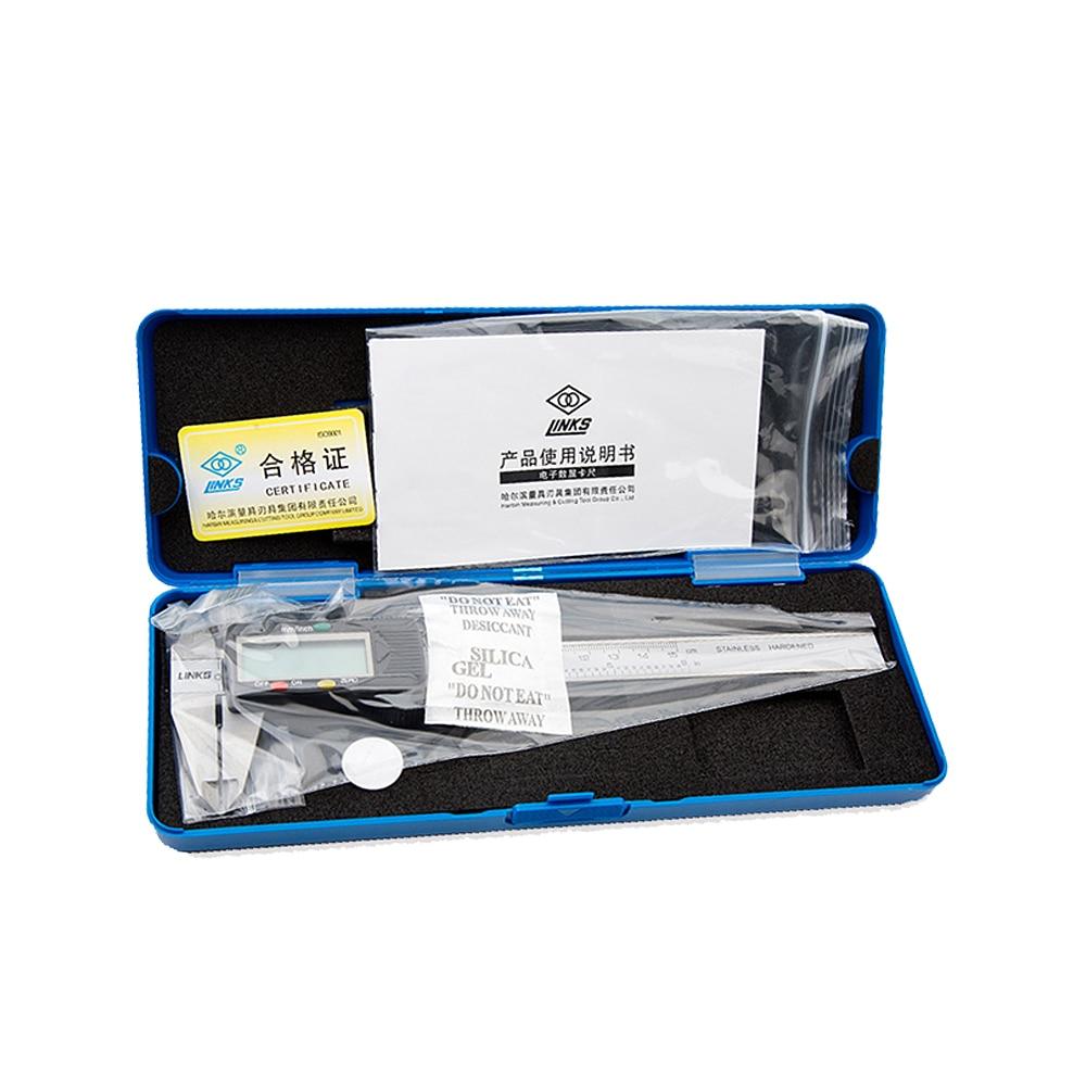 0 150mm 200mm 300mm LCD Digital Vernier Caliper Gauge Micrometer Measuring Tool Laser Scale Precise Measurement in Calipers from Tools