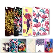 цена на Painted Case For Lenovo Tab 4 Plus A3300 A3500 Mediatek MT8121M A3500-F Tab7 Essential Tab4 TB-7504F Tablet Case Coque Cover Bag