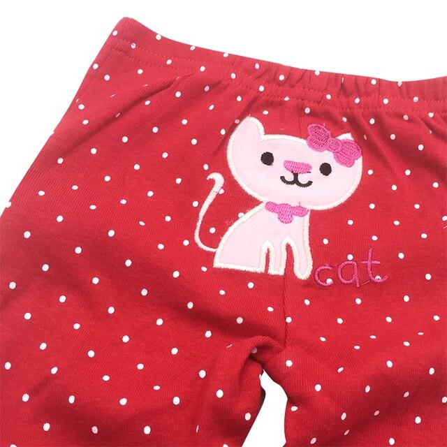 Купить 5 шт/лот; штаны для маленьких мальчиков и девочек; хлопковые картинки