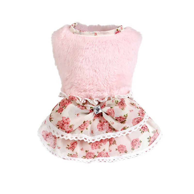 Pet Sweater Dog Clothes Dress Dog Clothes Pet Puppy Sweater Charm Apparel Chihuahua Products Dogs